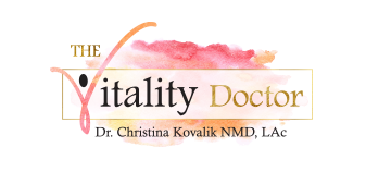 The Vitality Doctor Retina Logo