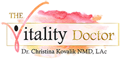 The Vitality Doctor Logo